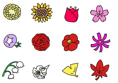 花のみ(表情なし)