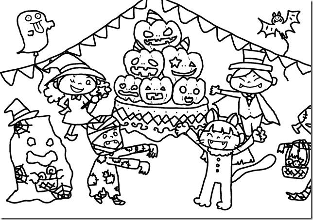 ハロウィンパーティ(子どもたち)