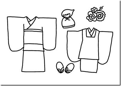 七五三衣装(女の子)
