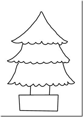クリスマスツリー(シンプル)