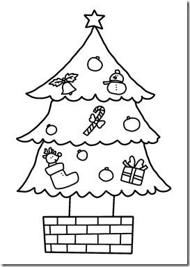 クリスマスツリー(飾りあり)