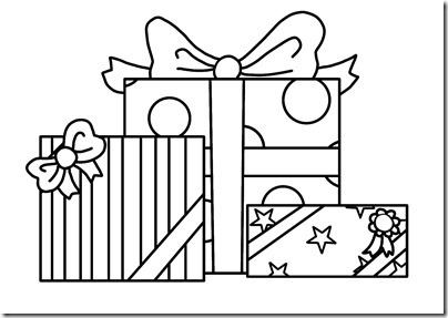 たくさんのプレゼント(柄あり)